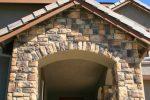 Vordach mit Seitenteil