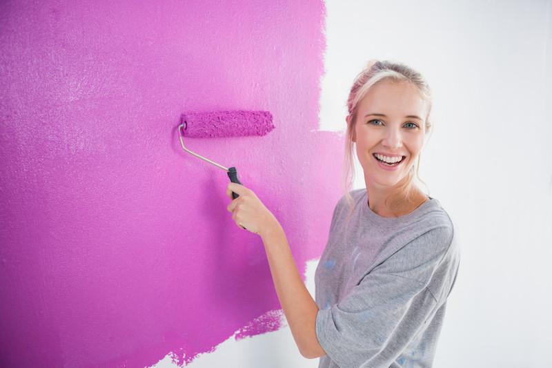 Wände streichen welche Farbe