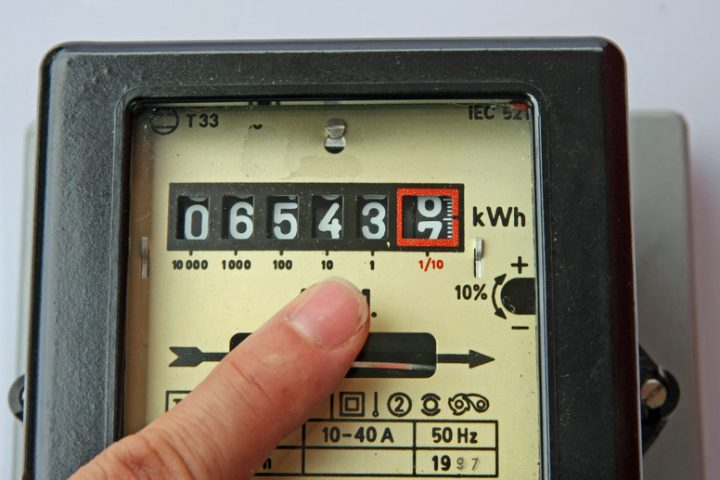 Wärmewellenheizung-Stromverbrauch