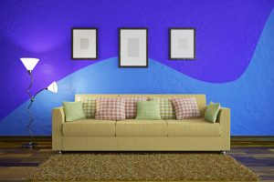 Wand streichen Muster Ideen