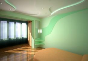 wand mit streifen streichen anleitung in 3 schritten. Black Bedroom Furniture Sets. Home Design Ideas
