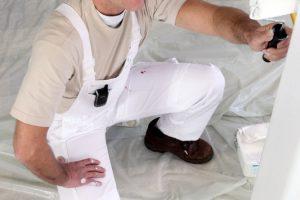 Wand streichen ohne Tapete