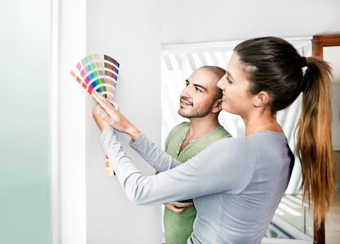 wandfarben auswahl so treffen sie den richtigen farbton. Black Bedroom Furniture Sets. Home Design Ideas