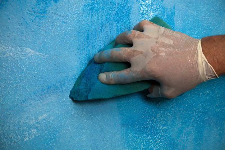 Wandfarbe » Effekte Schaffen Mit Wischtechnik