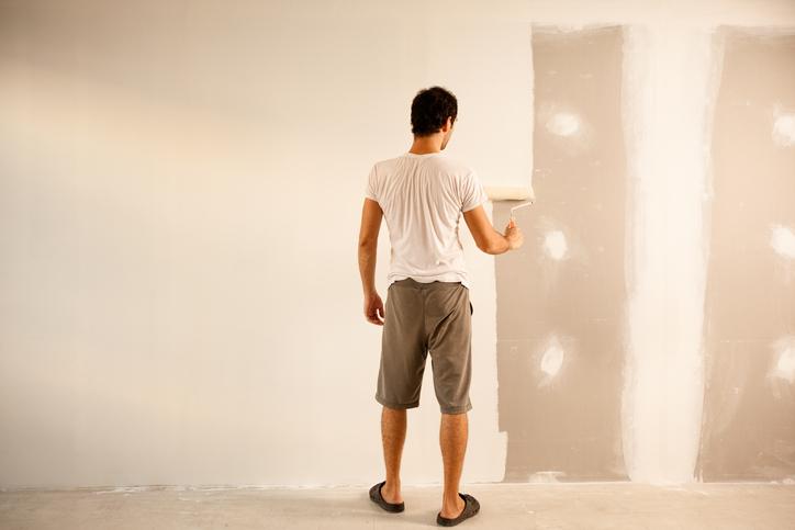 Wandfarbe Auf Putz Streichen Anleitung In 4 Schritten
