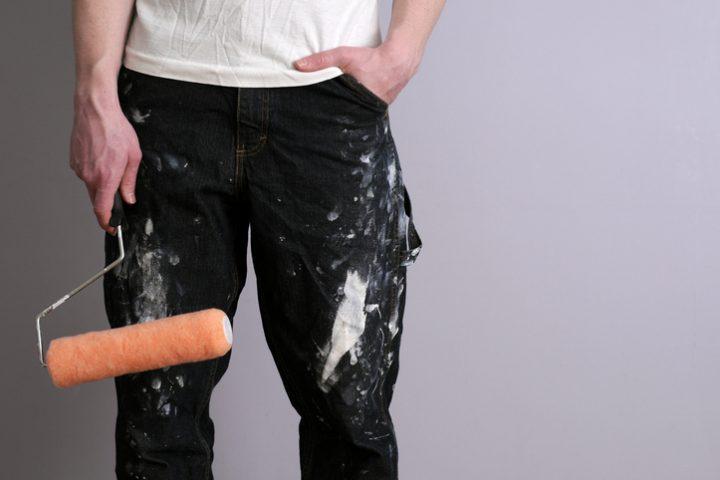Relativ Wandfarbe aus Kleidung entfernen » So gelingt's EE48