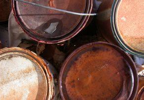 Wandfarbe entsorgen wohin mit alter farbe und eimern - Alte fenster entsorgen ...