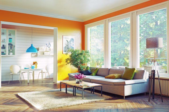 Wandfarben fürs Wohnzimmer » Diese schaffen Ambiente
