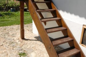 Wangentreppe selber bauen