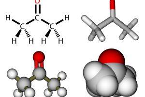 Aceton Formel