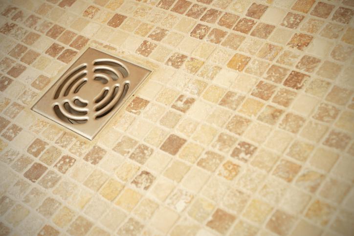 Waschk che der bodenablauf und die vorschriften for Carrelage sol douche italienne antiderapant
