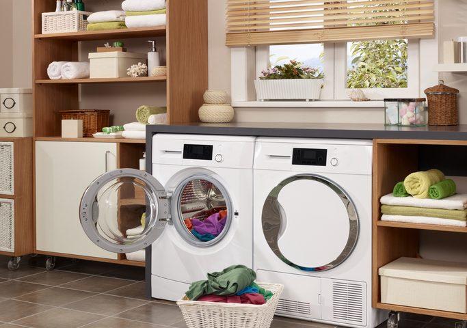 Waschküche gestalten » modern funktional und chic
