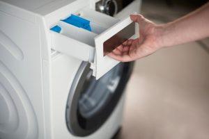 Schublade Waschmaschine sauber machen