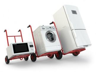 Transportsicherung beim Umzug einer Waschmaschine