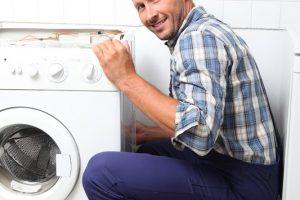 Waschmaschine abbauen