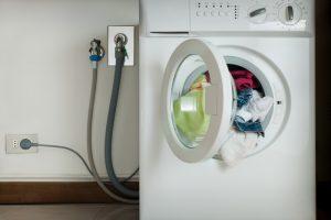 Waschmaschine abklemmen