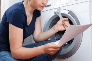 Waschmaschine abschließen