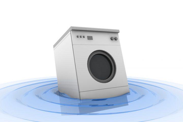 Waschmaschine leckt