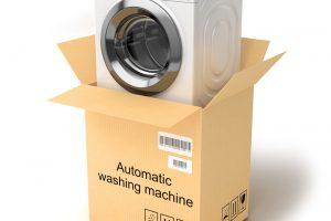 Waschmaschine liegend transportieren