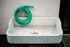 Waschtisch Eigenbau