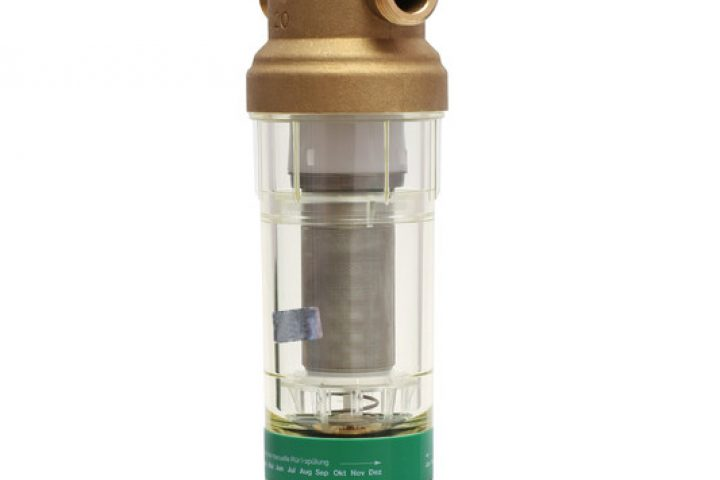 Wasserfilter mit Druckminderer
