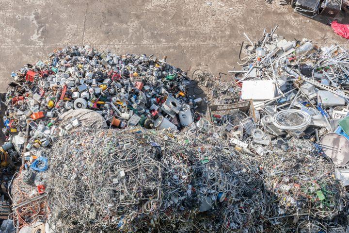 Wasserkocher Müll