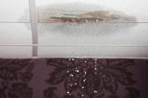 Wasserschaden durch Regen