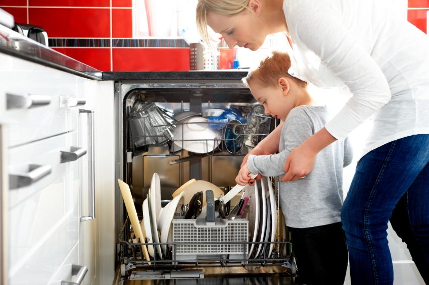 Wassertasche Spülmaschine