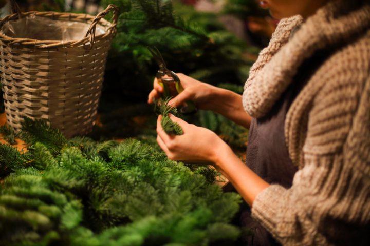 Weihnachtsbaum Drahtgestell.Weihnachtsbaum Selber Bauen Drei Kreative Ideen