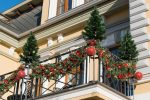 Weihnachtsdeko Balkon