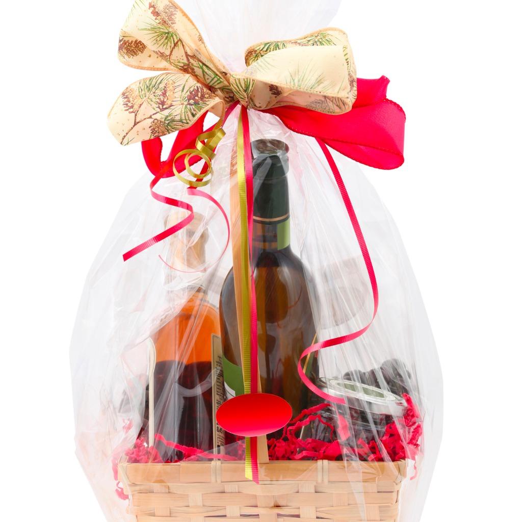 Favorit Weinflasche verpacken mit Folie » Anleitung in 4 Schritten NW75