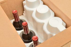 Weinflaschen versenden