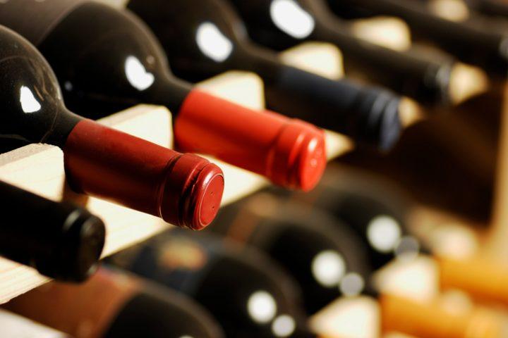 Weinflaschenhalterung Holz selber bauen