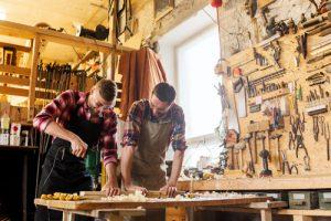 Werkstatt ausbauen