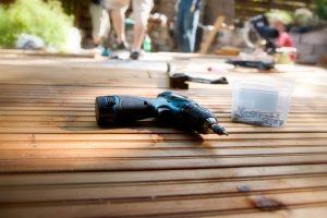 Wie baue ich eine Holzterrasse