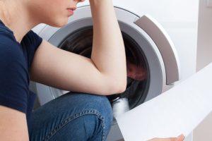 Wie benutzt man eine Waschmaschine
