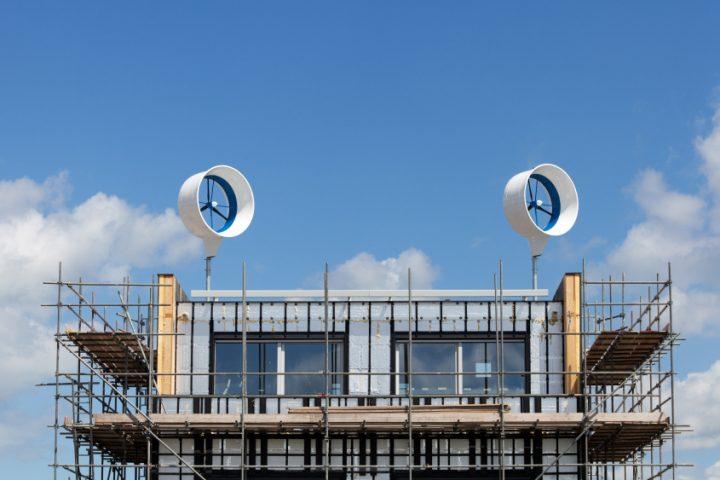 Windkraftanlagen für Einfamilienhäuser » Was spricht dafür?