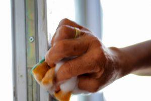 Window-Color von Holz lösen
