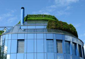 Wintergarten auf dem Dach