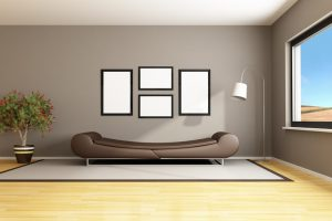 Wohnzimmer streichen
