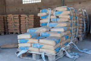 Zement aufbewahren