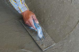 Zementestrich begehbar
