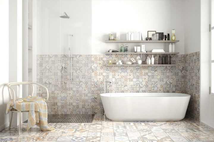 Zementfliesen fürs Badezimmer » Das sollten Sie beachten