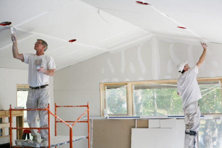 zimmerdecke renovieren » diese optionen gibt es - Zimmerdecken Gestalten