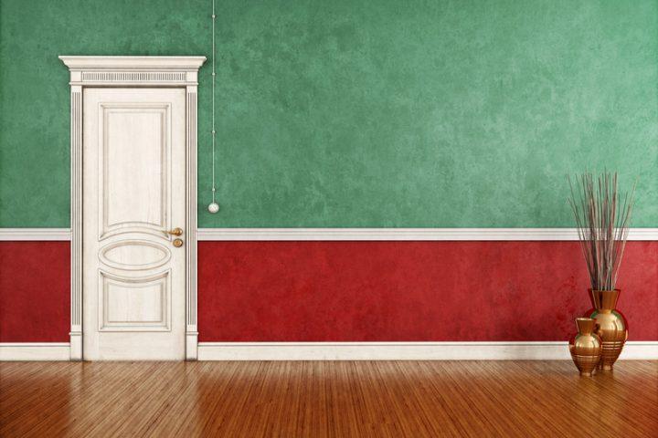 Zimmertüren streichen