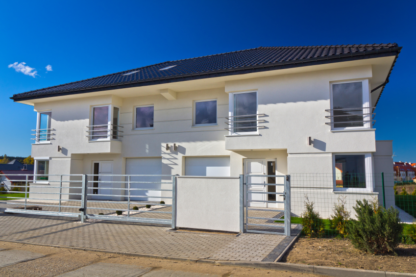 Zweifamilienhaus modern ausstattung optik for Zweifamilienhaus bauen