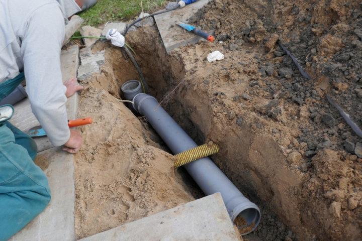 abwasserleitung-verlegen
