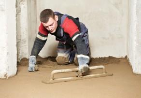 Estrich für Fußbodenheizung