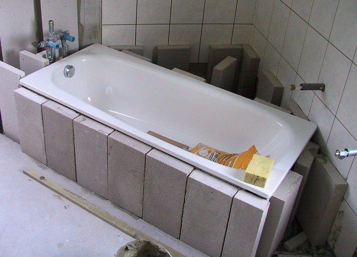 badewanne setzen so setzen sie fachgerecht ihre neue. Black Bedroom Furniture Sets. Home Design Ideas