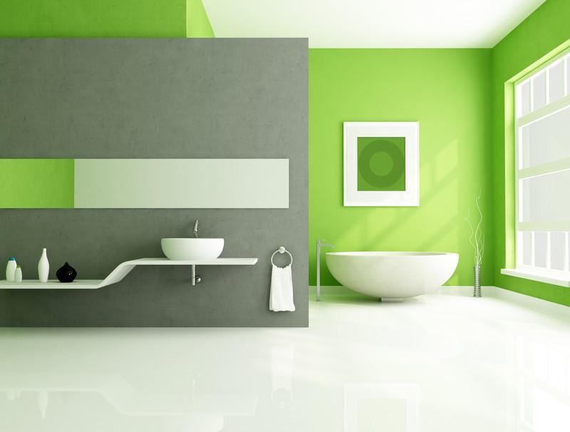 Das Badezimmer Perfekt Geplant